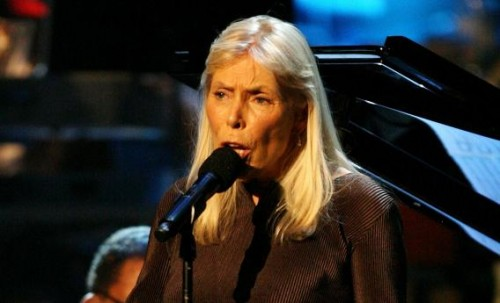 Legendary singer, songwriter and visual artist Joni Mitchell has Morgellons