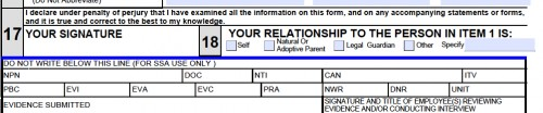 "The real man has the option on the SS-5 Form to check ""other,"" and state his claim as the Administrator of his ALL CAPS corporate franchise rather than to check ""self."""