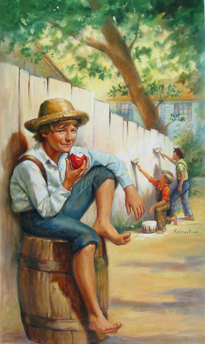 Tom Sawyer gets high on you and the energy you trade.