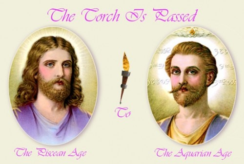 Has Jesus passed the torch to St. Germain, the violet ray?