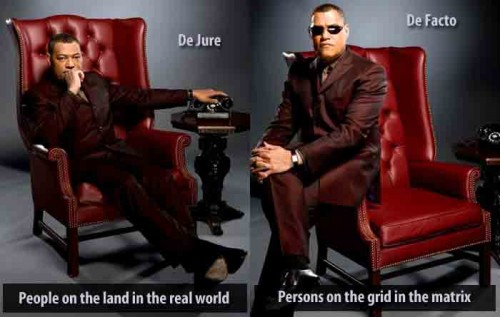 The actor, Lawrence Fishburne, (L) the character, Morpheus, (R)