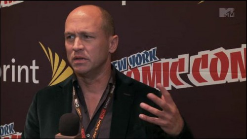 Filmmaker Mike Judge at Comic Con - is nothing sacred?
