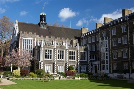 Located principally within the City of London, the site known as 'The Temple' is jointly held by the Honourable Societies of Middle and Inner Temple under Letters Patent granted by James I in 1608.