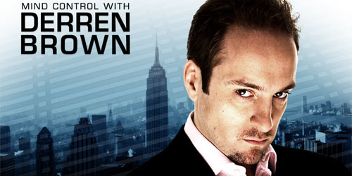 Visual Artist Derren Brown is a producer, performer, psychologist, investigator....you name it. Really the guy is very involved in a lot of interesting things.