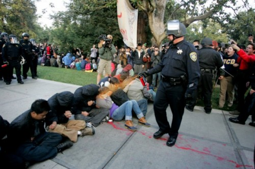 UC Davis students have won a lawsuit for pepper-spraying incident