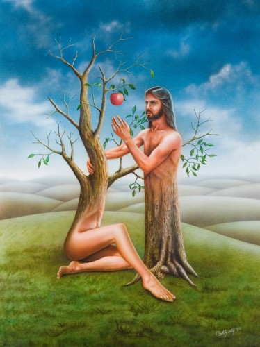 And Adam knew Eve his wife; and she conceived, and bore Cain, and said, I have gotten a man from the LORD.