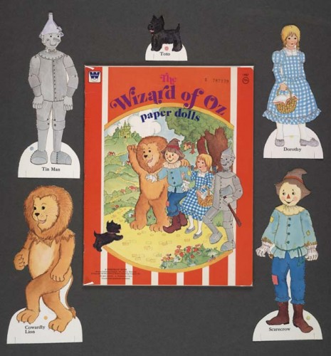 """Dorothy's """"person"""" can be dressed up in various outfits to perform various goals for the U.S. Corporation."""