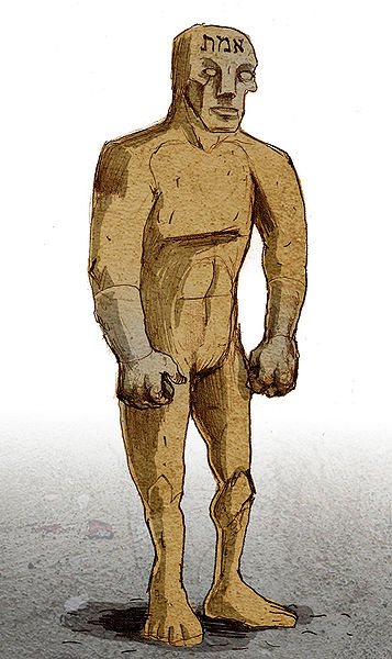The Philosopher's Stone is used to create a Golem, or clone.