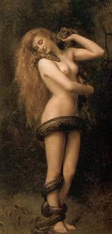 Lilith painting by JohnCollier-1892