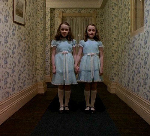The birth registration: there's a good reason why people get a gut-level reaction to creepy twins!