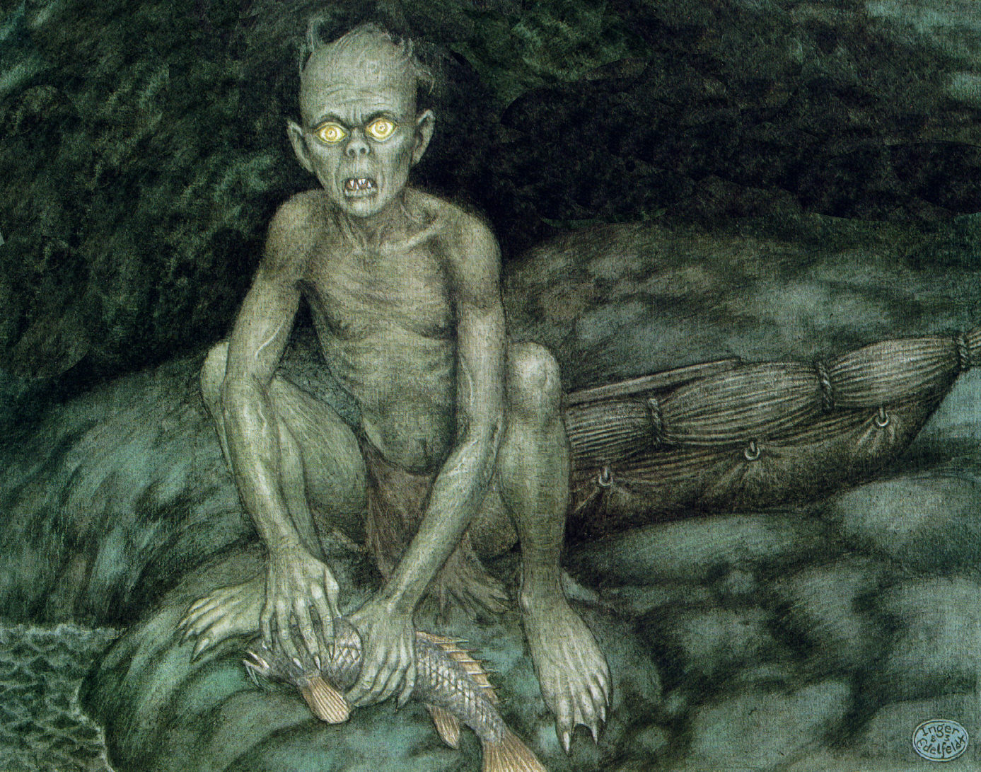 The legendary Golem: Persecuted Jews create an artificial monster to protect themselves from their enemies.