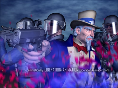 Liberation Animation is working with Featured Activist Adam Kokesh