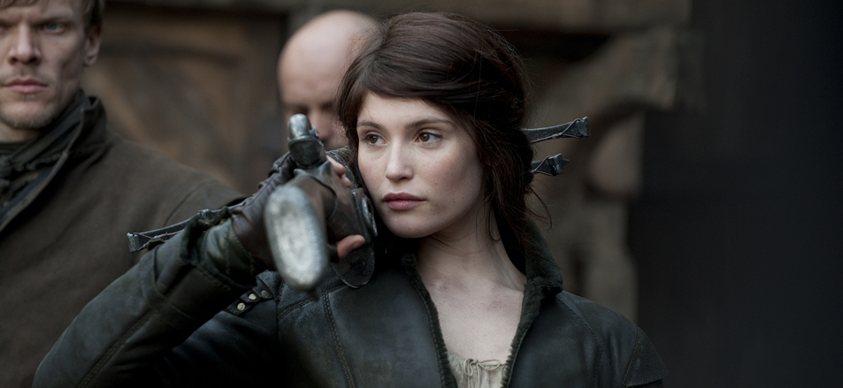 Gemma Arterton stars in Hansel & Gretel: Witch Hunters.