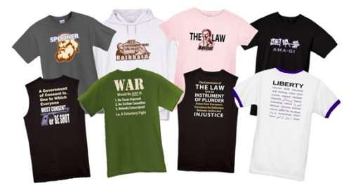 Liberty Animation produces t-shirts and more!