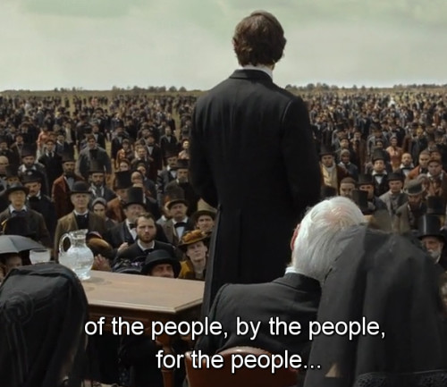 "Abraham Lincoln: Vampire Hunter  ""...of the people, by the people, for the people..."""