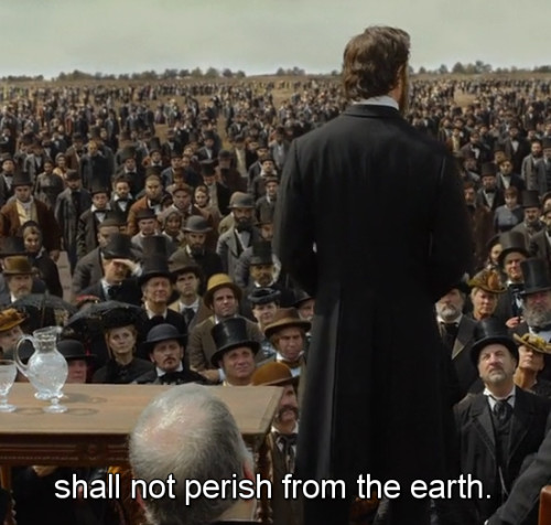 "Abraham Lincoln: Vampire Hunter  ""...shall not perish from the earth."""