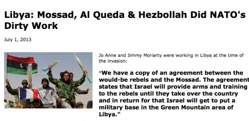 Jimmy and Joanne Moriarty witnessed numerous atrocities in Libya at the hands of U.S.-backed Al Queda and Hezbollah.