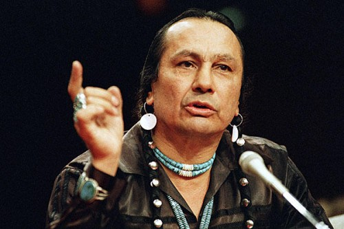 Fighter and Patriot Russell Means