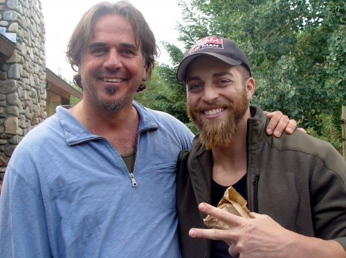 Adam Kokesh (R) with Anthony at Peace Unity and Freedom Festival in Colorado