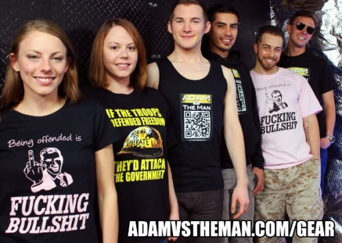 You can support Adam by purchasing gear
