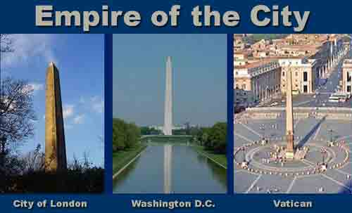 Empire of the City: City of London,D.C., the Vatican