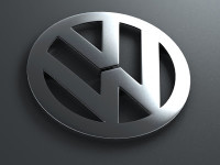 Volkswagen Logo: Mystery Babylon wedges herself between Adam and Eve.