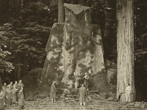 The Elite Perform the Cremation of Care Ceremony at Bohemian Grove