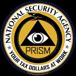 NSA PRISM Logo - Your Tax Dollars at Work