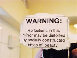 Warning: Reflections in the Mirror may be distorted