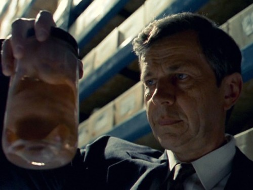 The X Files' Cigarette Smoking Man with Fetus