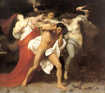 "The ""Three Furies""; The Remorse of Orestes."