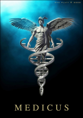 Caduceus DNA with Hermes