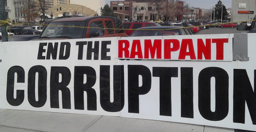 End The Rampant Corruption