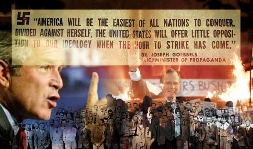 Amerika: Divided and conquered by globalist banksters