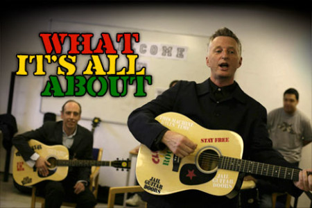 Billy Bragg's project, Jail Guitar Doors