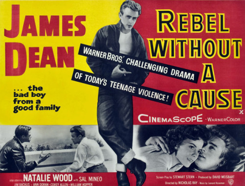James Dean: Rebel Without a Cause Poster