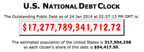 $54, 417.50 is the Eloi's share of the U.S. National Debt run up by the Morlocks.