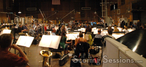 Conducting the orchestral portion of the score with an 88-piece ensemble of the Hollywood Studio Symphony, Tyler's high energy score provides plenty of tension amidst the driving action.