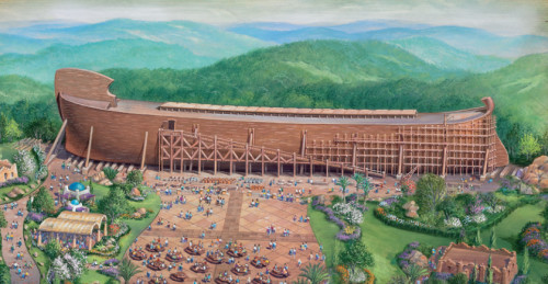 Ken Ham and folks at AIG are building an Ark; click on the graphic to learn how you can help build the Ark, too. Answers in Genesis (AiG) is the non-profit Christian ministry behind the highly successful Creation Museum