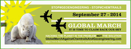 Global March Against Chemtrails Happens September 27, 2014