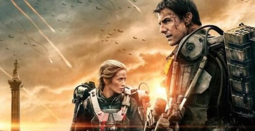 Tom Cruise and Emily Blunt can reset the day in Edge of Tomorrow