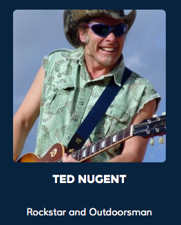 Rockstar and Outdoorsman Ted Nugent combines his music and activism