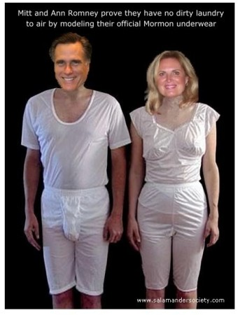 Mitt and Ann Romney: No Dirty Laundry!