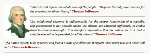 Find more Jefferson quotes at the National Liberty Alliance. Click for more.