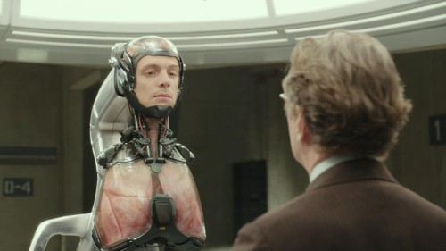 """Robocop (2014) featuring transhuman theme: """"If I only had a Brain"""" .... Heart, Lungs, and Face."""