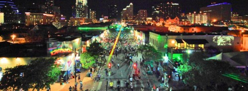 South by Southwest attracts musicians artists and filmmakers to Austin Texas
