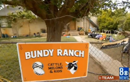 Bundy Ranch is located on or near Clark County Nevada