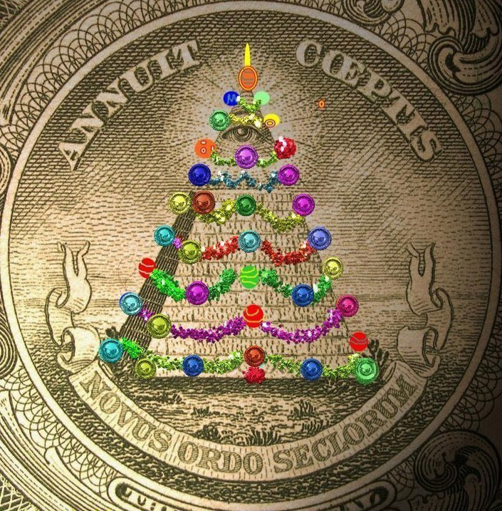 The BIg Lie: The Christmas Tree on Dollar Bill