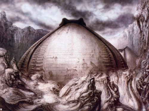 The Egg Silo, also known as the Pyramid, was a location cut from Alien during it's production. It was to be the original location where the Xenomorph Eggs were discovered on LV-426.