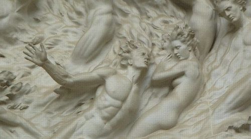 Detail, Ex Nihilo by Frederick Hart, Washington National